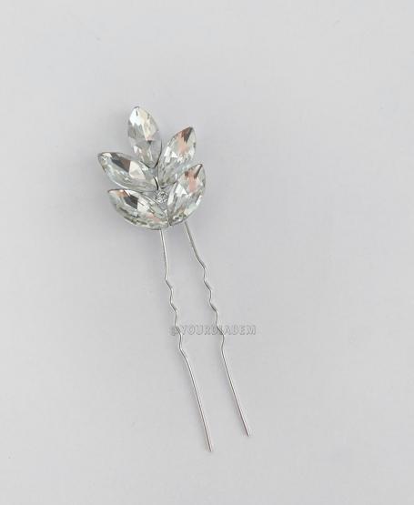 Шпилька с кристаллами